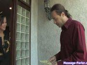 German massuese seduces a client p. 1/3