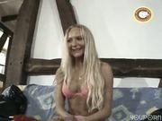Cute skinny blonde gets nailed - Punami Films