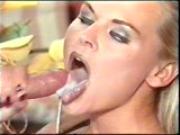 Katja Kean Cumshot on Tongue