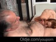 Step dad messing with young maid cums in her mouth after fucking