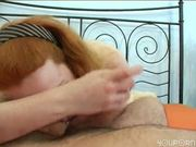 Ginger girl fucks a fat dick - ANT Studio