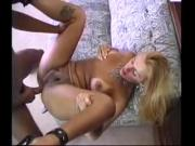 Blonde tranny fucks on the floor - Transenficker666