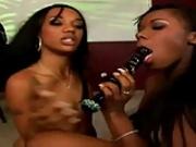 Beautiful Ebony Lesbian Seduces Friend - Ariel & Kapri