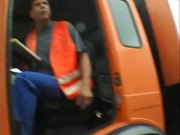 WHORE LEONIE WITH A TRUCK DRIVER - Part 1 H9
