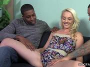 Ashley Stone taking black cock