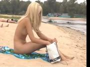 Nude Beach - Cute tall Blond