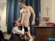 not father Victor decides to punish Oscar for being naughty