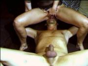 licking my wife's ass and pussy