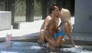 Sexy blonde fuck near pool - no bullshit
