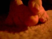 Wiggling toes