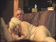 Grandma sucks grandpa