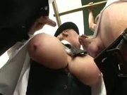 British MILF Kirstyn Halborg outdoor sex scene