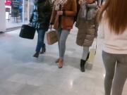 Mall girl nice ass