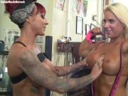 Dani and Megan Compare Pecs