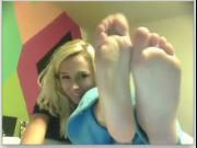 webcam girls feet