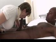 Busty British Mature Fucked By Black Guy