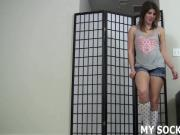 Have you been dreaming of my sexy knee high socks again JOI
