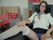 Naughty Schoolgirl Caught By The Teacher