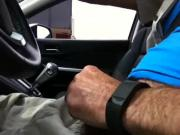 Stroking while driven