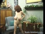 Katryns stips and masturbates for the first time on cam