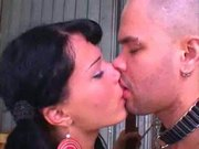Cute Shemale Fernanda and Guy Bareback Each Other