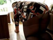 Fat Ass from my german Wife in Pnatyhose