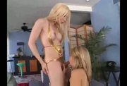 Shemale and hot squirting blonde