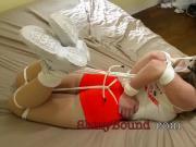 Terra Mizu Chairtie Bondage Orgasm Strict Hogtied