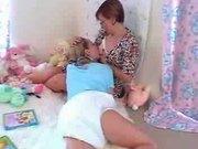 paige and maria breast feeding