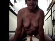 Vickies first Dildo Video