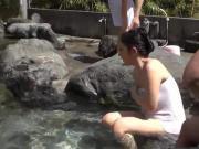 Konyoku - Onsen Hot Spring Mixed Spa Bath Japan 2