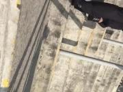Metro DF al subir escalera