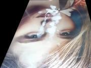 Chloe Moretz Facial Cum Tribute cam2