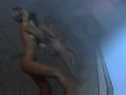 Sophie Eve Sandy showering