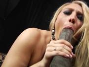 sexy blonde takes anal by BBC