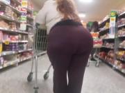 Sloppy Wide Butt BBW