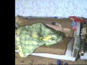 Masturbation under the covers, hidden camera...
