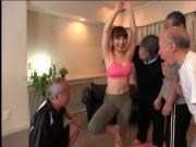 Yoga Instructor Gangbang For Old Men