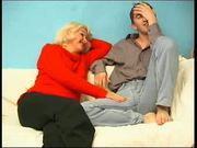 Russian mom ( Irina) seduces her young boy