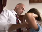 HOT COLLEDGE STUDENT GET'S FUCKED ON THE DEAN'S DESK