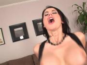 Big tits mature milf in stockings fucks great