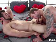 Muscular Colby Jansen romantic assfucking