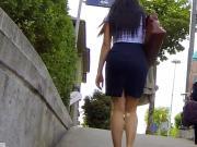 Candid - Turkish MILF In Skirt iIce Ass Leggs Body