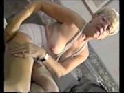 Mature Grandma Teasing In Stockings And Girdle