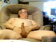 grandpa big balls cum on cam