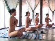 nude yoga Ukrainian girls