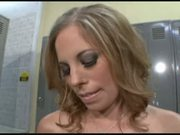 Locker Room Creampie