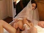 sexy bride rides a big french cock  by Fra1