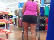 Sexy Tan Mom Cheeky ShortsUpshorts