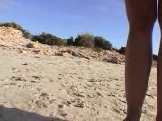 Claudia und Ich - Am Strand auf Malle